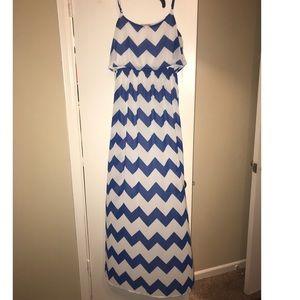 Maxi Dress Chevron